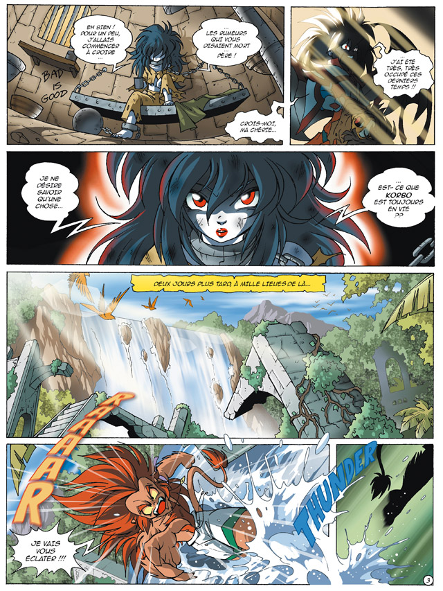 Planche 01 -  - Le Cycle d'Anathos : L'Alystory