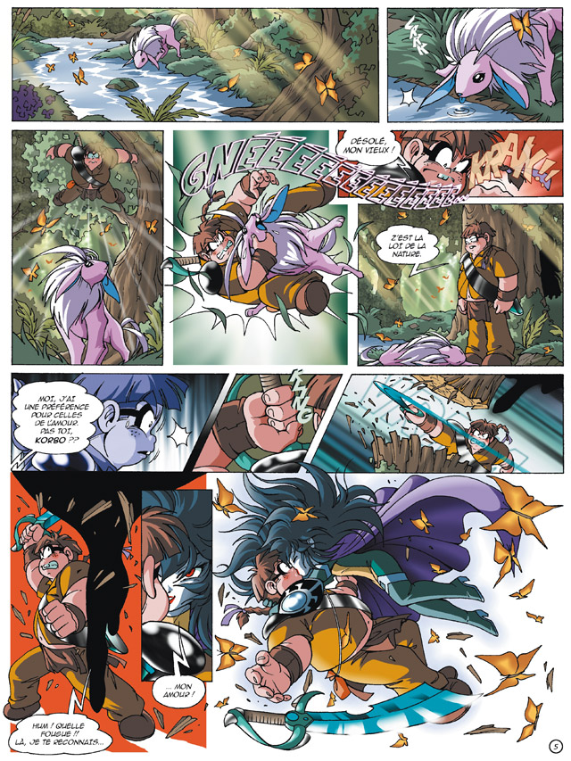Planche 03 -  - Le Cycle d'Anathos : L'Alystory