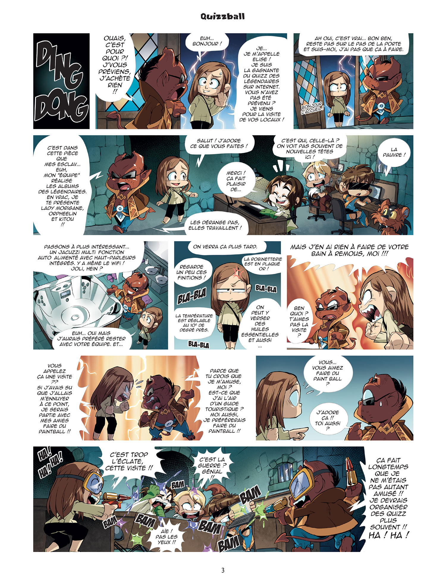 Planche 01 -  - Game of drôle